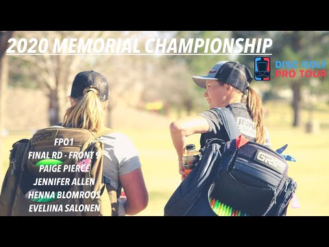 2020 Memorial Championship Presented By Discraft | FinalRD,F9,FPO | Pierce, Allen, Blomroos, Salonen