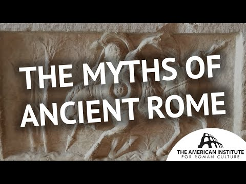 Gods and heroes in real locations in Rome: the myths of Ancient Rome