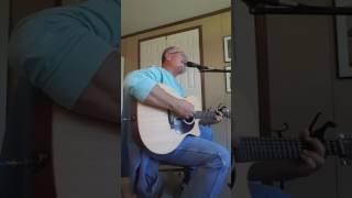 """Strangely At Ease"" original by Ken Freeman ( Damn Truck Driver)"