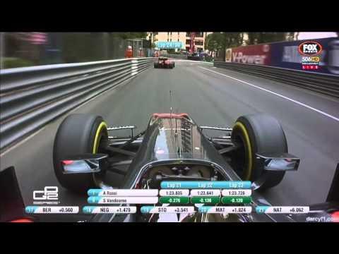 GP2 2015 - Stoffel Vandoorne onboard lap at Monaco - RACE 2