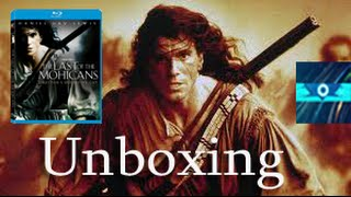 The Last Of The Mohicans Definitive Director's Cut Blu-Ray Unboxing!!!