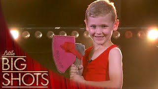 Meet 5 Year Old Wood Chopping Champion Archie | Little Big Shots