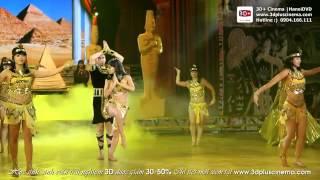 Nữ Hoàng Ai Cập Minh Hằng đăng quang Nữ hoàng khiêu vũ 2012