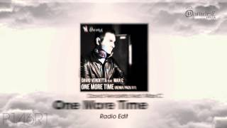 David Vendetta Feat. Max C - One More Time (Radio Edit)