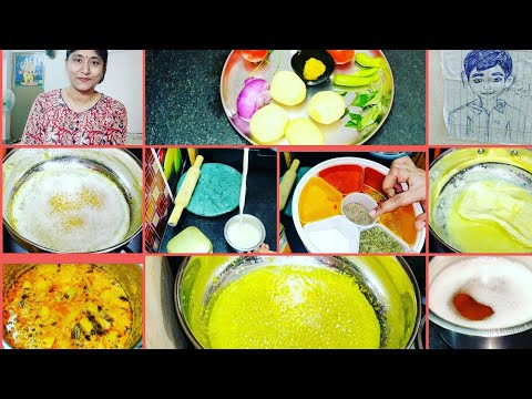 vlog-పూసలాంటి-నెయ్యి-!ఆలూ-కుర్మా!-ఇమ్మ్యూనిటి-పెంచే-పాలు,లేహ్యం!indian-lunch-routine aloo-kurma ghee