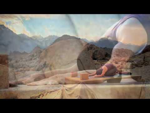 """High Vibrations Yoga by Jo Tastula   Music by Lisbeth Scott - """"Gayatri"""" from """"Om Sweet Om"""""""