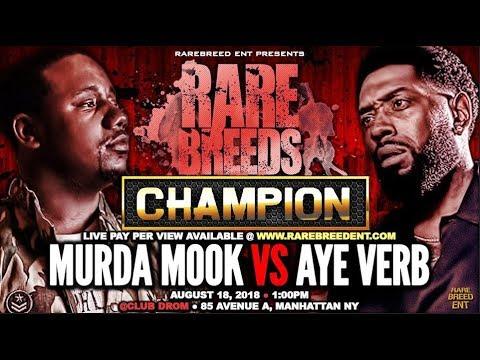 CHAMPION | MURDA MOOK VS AYE VERB WAR!!!!!!!