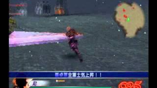 [PS2] 真三國無雙3 猛將傳 自創武將 甘寧+大劍模組 GAMEPLAY