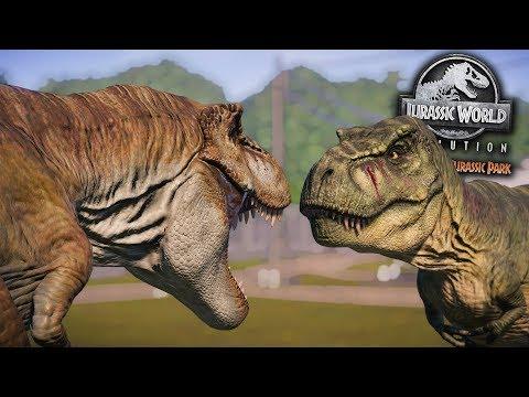 All New T.Rex Skins Showcase!!  - Return To Jurassic Park Showcase DLC