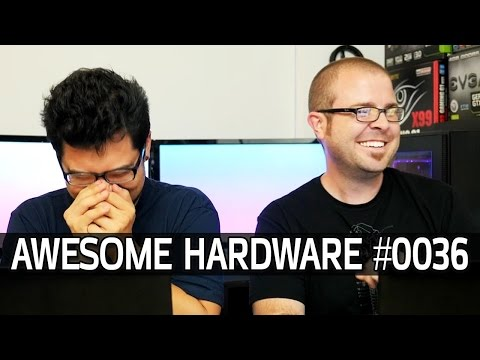 """Awesome Hardware #0036A - YouTube Red, Mysterious AMD Magnum & NVIDIA JM601, """"The eJaculator"""""""