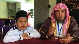 Dua Google Al Qur'an, Ahmad & Kamil bersama Duta Besar Arab Saudi