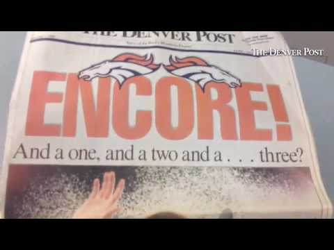 1999 #SuperBowl coverage of #Broncos