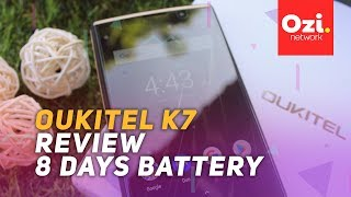 Oukitel K7 Review - 8 days battery !!!!