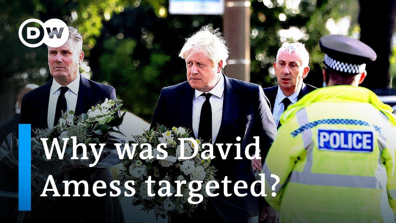 Download Stabbing of UK lawmaker Amess declared a 'terrorist incident'   DW News