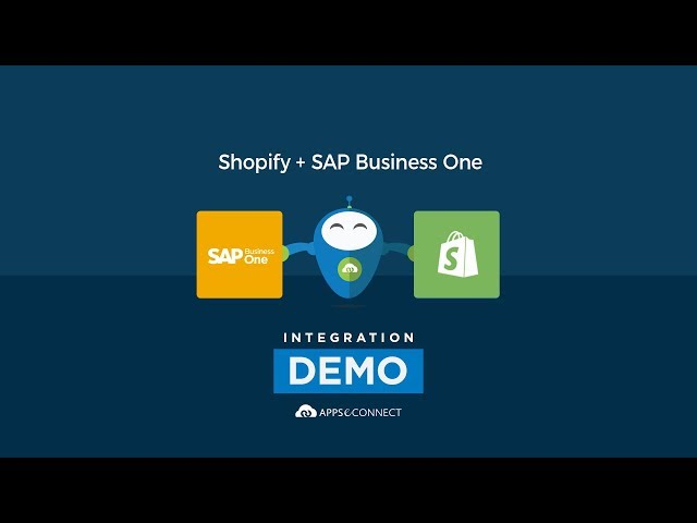 Integrate SAP Business One ERP and Shopify | APPSeCONNECT