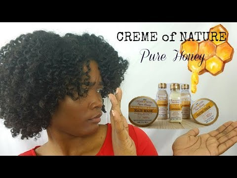 Creme of Nature Pure Honey DEMO | Review