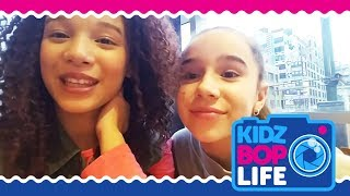 KIDZ BOP Life: Vlog # 23 - Behind The Scenes with Ahnya in New York