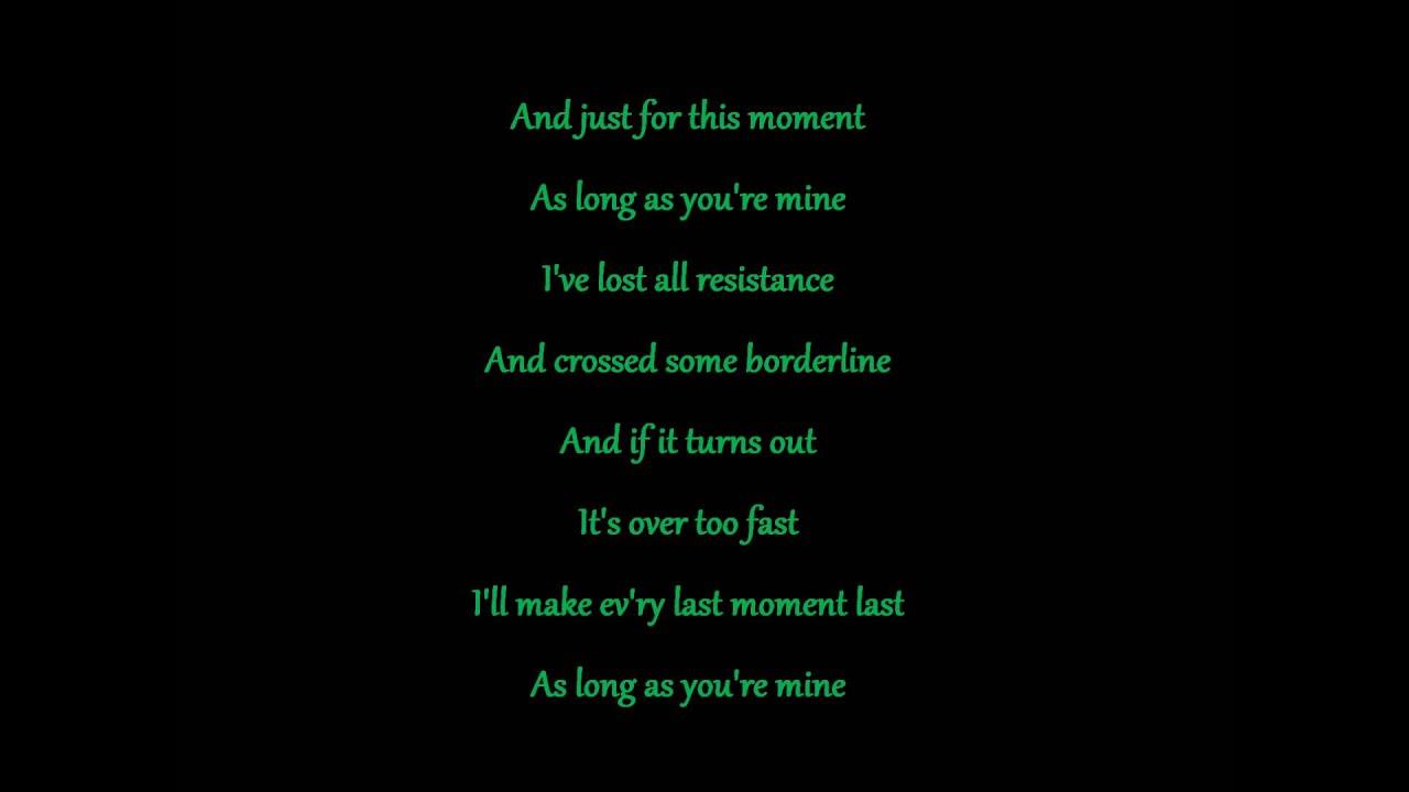 Songtext von Disturbed  Youre Mine Lyrics