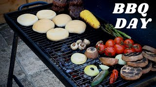 THE BEST BEEF BURGER EVER MADE IN THIS WORLD | RECIPE BY CHEF RICARDO COOKING + BBQ DAY COOKING !!