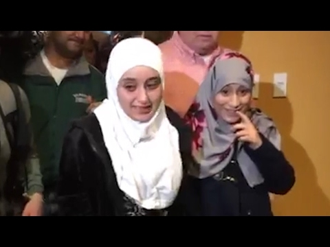 Yemen girl, 12, reunited with family in US after Trump travel ban lifted