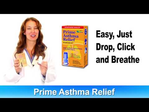 Prime Asthma Relief Over The Counter Inhaler - Easy To Use, Affordable