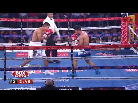 Jaime Munguia vs Jose Carlos Paz Tv Azteca