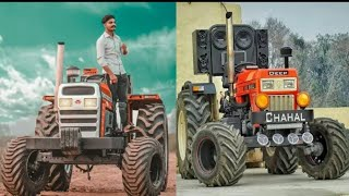 Modify tractor in punjab !! Big tyre Tractor modified Best edition !!