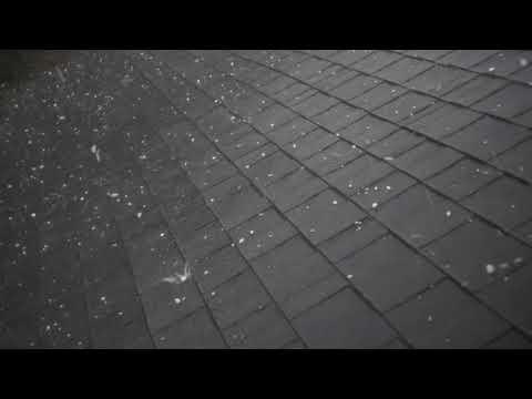 Hail damage on roof georgia