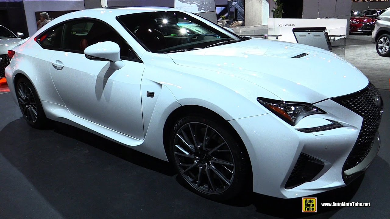 2017 Lexus Rcf Exterior And Interior Walkaround 2016 La Auto Show