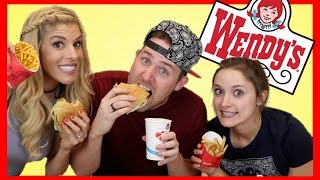 TASTING WENDY'S VALUE MENU (with Rebecca Zamolo & Erin Evans)