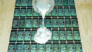 What Happens If You Pour Molten Aluminum on 50 iPhones?