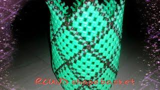 How To Make Round Shape basket or (Annachipala koodai) part 1
