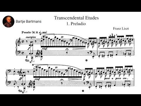 Franz Liszt - Études d'exécution transcendante (1851) {François-René Duchâble)