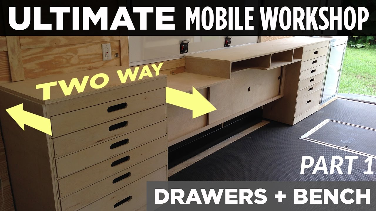 Ultimate Mobile Workshop Part 1 Two Way Cabinet