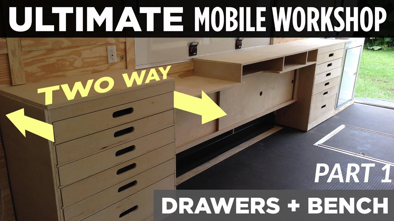 ULTIMATE Mobile Workshop  PART 1  TwoWay Cabinet