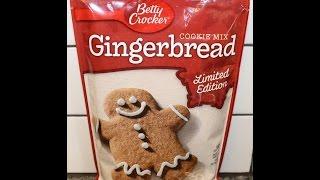 Making Betty Crocker Gingerbread Cookies