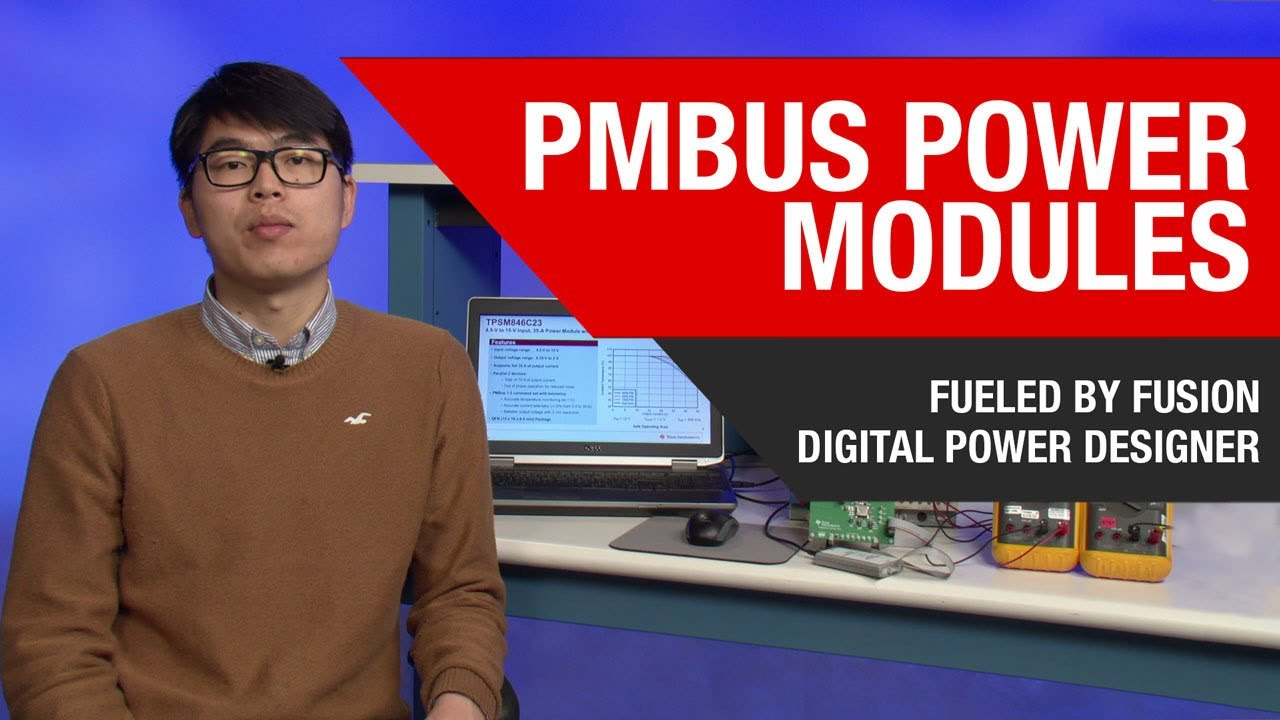 Using Fusion Digital Power Designer with the TPSM846C23 PMBus Power Module