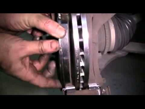 When To Replace Brake Pads >> How to Replace the Front Brake Pads and Rotors on a 1999 ...