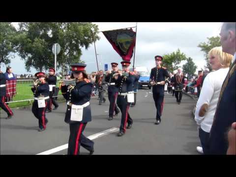 Royal Black Preceptory  parade in Ballymoney 2013