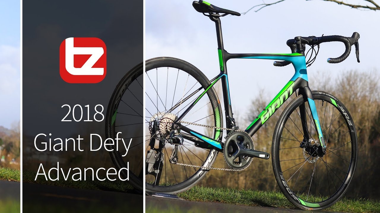 Giant Defy Advanced 2017 Road Bike Review | Tredz Bikes