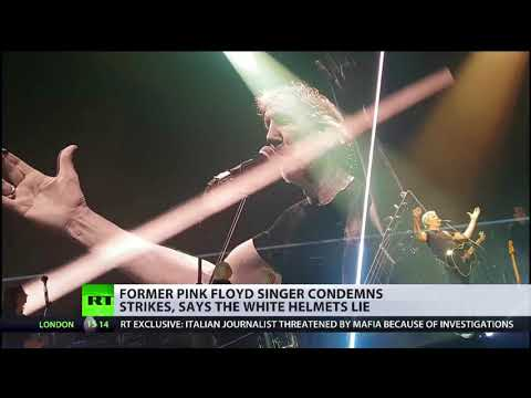 Roger Waters condemns Syria strikes and says White Helmets lie