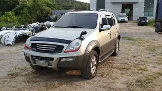 Korean used cars 2002 Ssangyong Rexton RE290 4WD