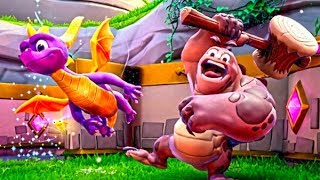 SPYRO REIGNITED TRILOGY Gameplay Demo PS4 (SDCC 2018) Spyro Trilogy REMASTERED