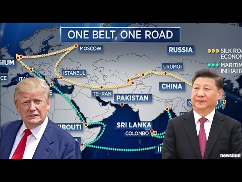 Image result for Trump and Silk Road