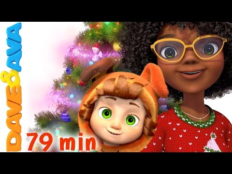 🎅 Christmas Songs For Kids | Deck The Halls | Christmas Songs Collection From Dave And Ava 🎅