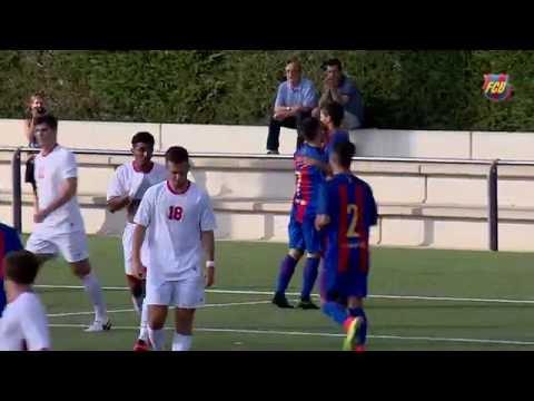 [HIGHLIGHTS] U19: FC Barcelona-Dickinson College (7-1)