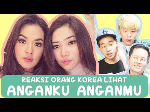 Cover Lagu REAKSI ORANG KOREA LIHAT MV ANGANKU ANGANMU - RAISA ISYANA HITSLAGU