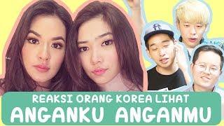REAKSI ORANG KOREA LIHAT MV ANGANKU ANGANMU - RAISA ISYANA Mp3