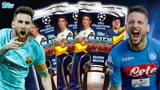 MATCH ATTAX 17/18 Champions League Packs auspacken (deutsch)