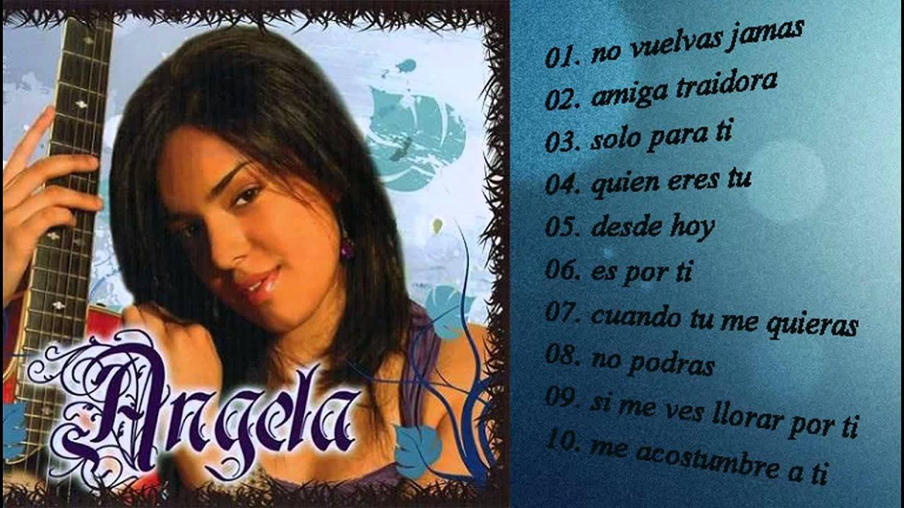 Angela Leiva 1er Album 2009 Cd Completo Vi